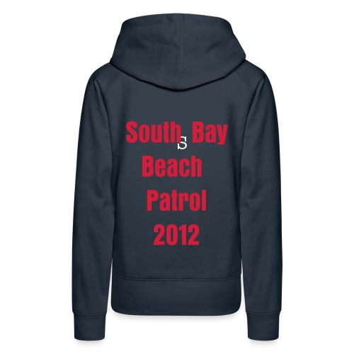 Scarborough Girls navy/red hoodie - Women's Premium Hoodie
