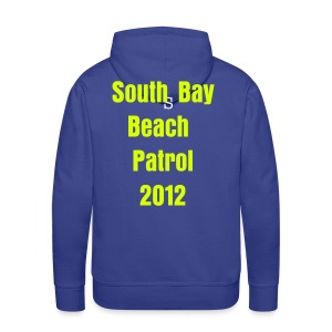 Scarborough mens blue/yellow hoodie - Men's Premium Hoodie
