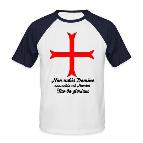 templier - T-shirt baseball manches courtes Homme
