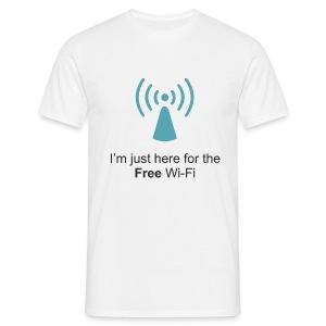 Free Wi-Fi - Men's T-Shirt