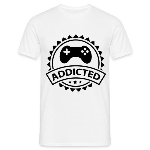 Game Addicted - Männer T-Shirt