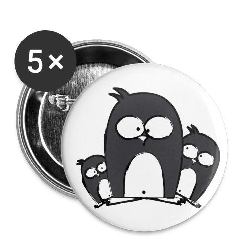 Pinguine_Button - Buttons klein 25 mm
