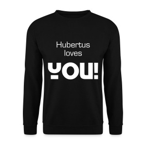 Hubertus loves you - Männer Pullover