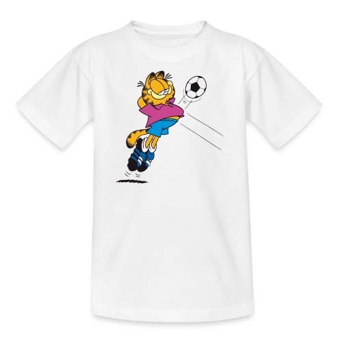 T-Shirt Garfield Football amorti  - Teenager T-Shirt