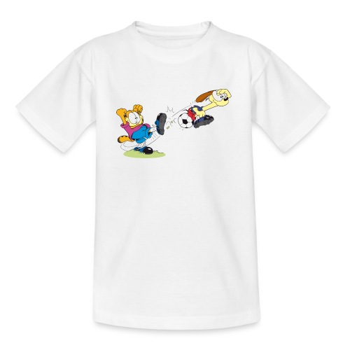 T-Shirt Garfield Odie  - Teenager T-Shirt