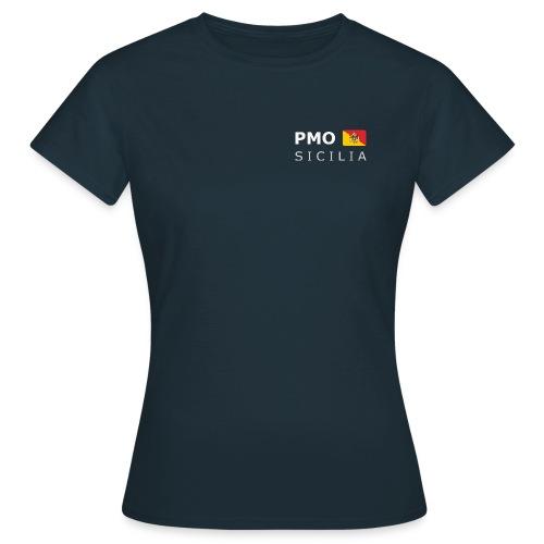 Women's T-Shirt PMO SICILIA white-lettered - Women's T-Shirt