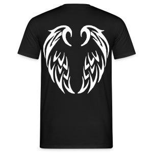 T shirt homme ailes tribales - T-shirt Homme