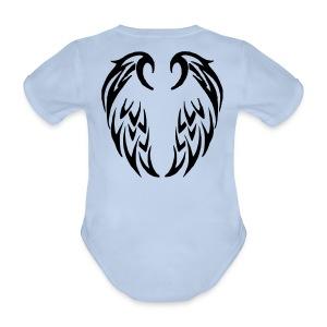 Body bébé ailes tribales - Body bébé bio manches courtes