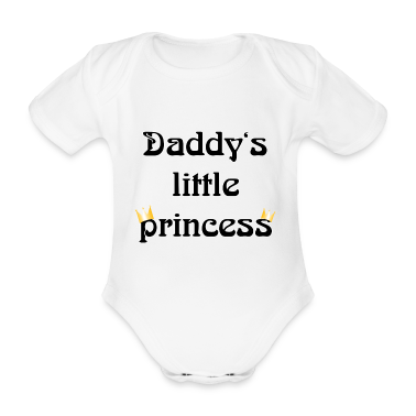 daddys little princess Baby Shirts