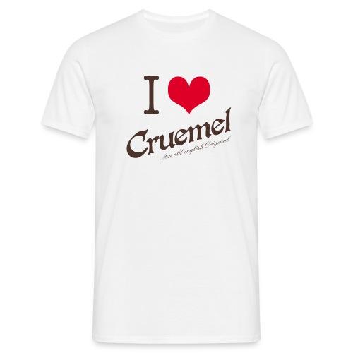 I heart Cruemel - Männer T-Shirt