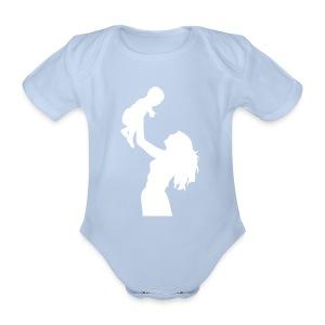 Rompertje korte mouw - Baby bio-rompertje met korte mouwen