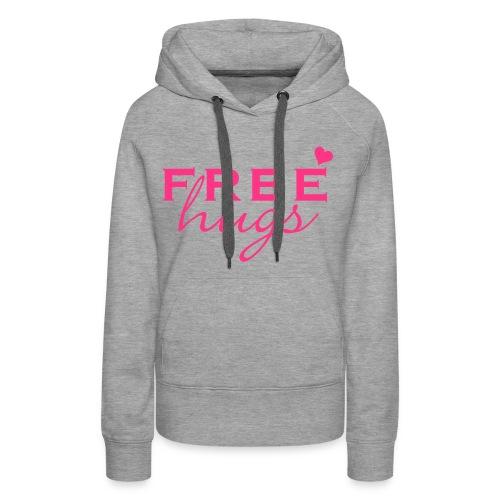 Free hugs hoodie for women - Vrouwen Premium hoodie