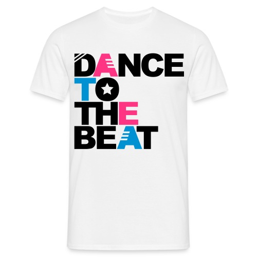 Tee Shirt  DANCE TO THE BEAT  by Dj Lulu - T-shirt Homme