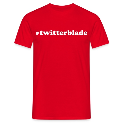 Mens 'twitterblade' Tee - Men's T-Shirt