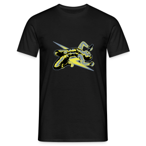 Rock God-Yellow/Silver - Men's T-Shirt
