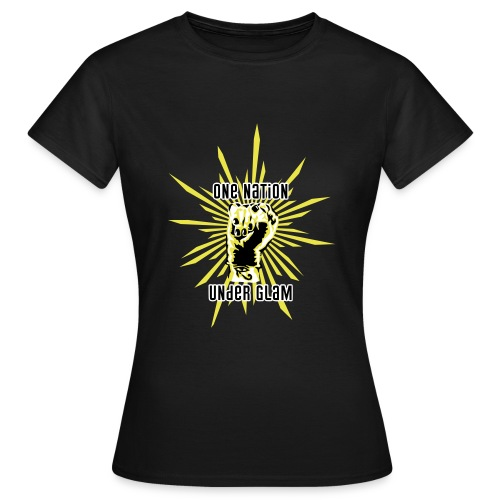 Propaganda-Yellow - Women's T-Shirt