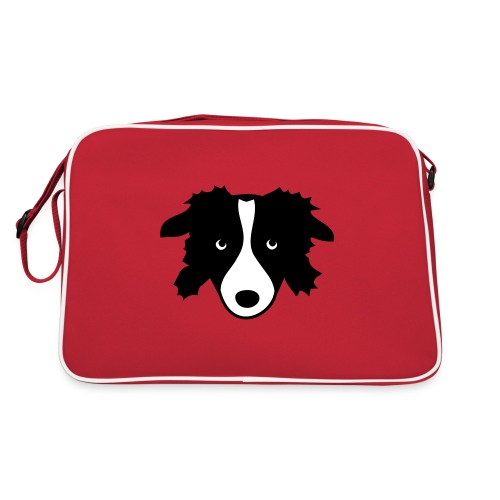 Border Collie - Retro Tasche