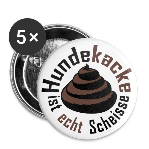 HaufenProtest - Buttons groß 56 mm