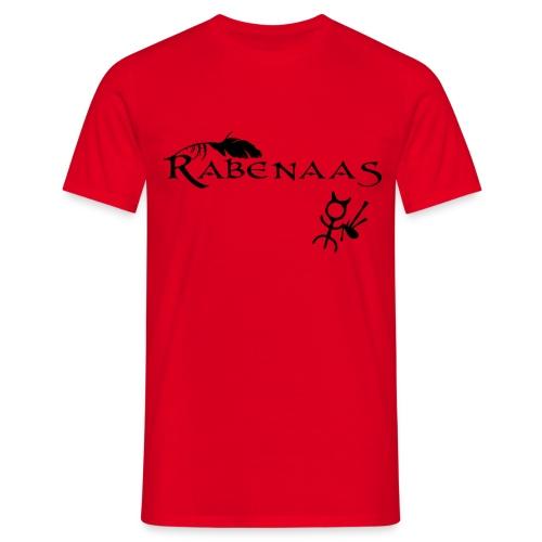 Rabenaas Basic rot - Männer T-Shirt