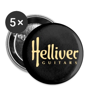 Helliver Guitars Button - Buttons klein 25 mm