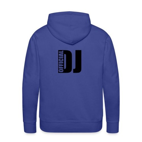 DJ royal - Sweat-shirt à capuche Premium pour hommes