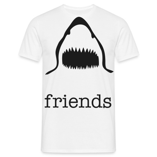 Friends shark - Men's T-Shirt