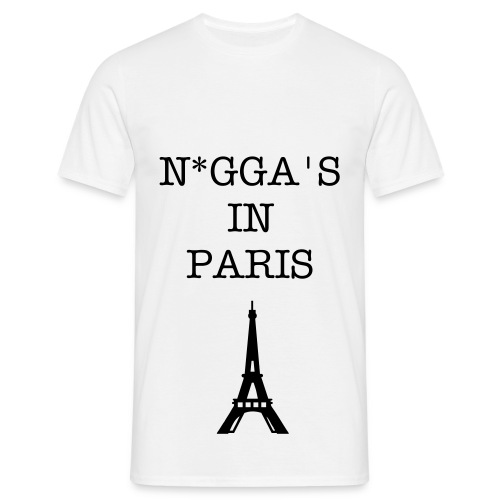WTT - N*gga's in Paris T-Shirt - Mannen T-shirt