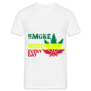 smoke weed every day ! - T-shirt Homme