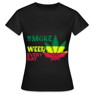 smoke weed every day ! - T-shirt Femme