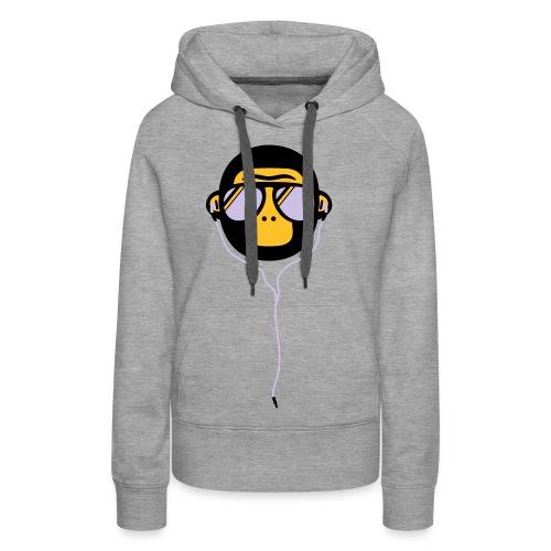 Monkey2 vrouwensweater - Vrouwen Premium hoodie