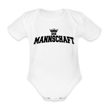 die mannschaft with crown Baby Bodysuits