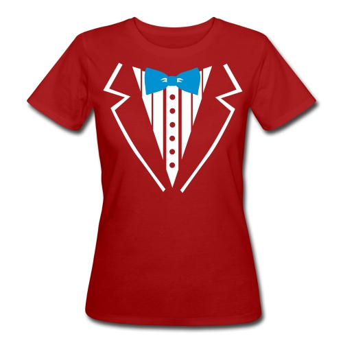 Womans organic tux tee - Women's Organic T-shirt