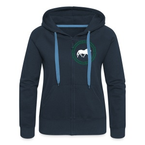 Connemara Pony Hooded Jacket - Women's Premium Hooded Jacket