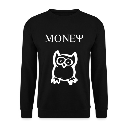 MONEY OWL (BLACK, SWEAT) - Herre sweater