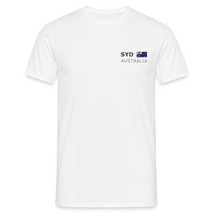 Classic T-Shirt SYD AUSTRALIA dark-lettered - Men's T-Shirt