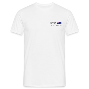 Classic T-Shirt SYD AUSTRALIA dark-lettered - Men's T-Shirt