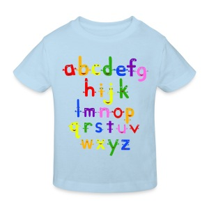 The Alphabet - Kids' Organic T-shirt