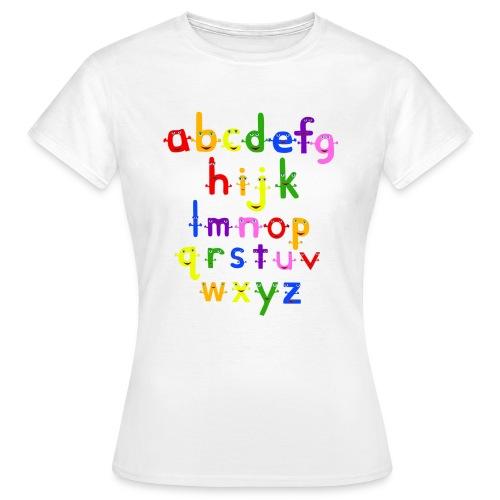 The Alphabet - Women's T-Shirt