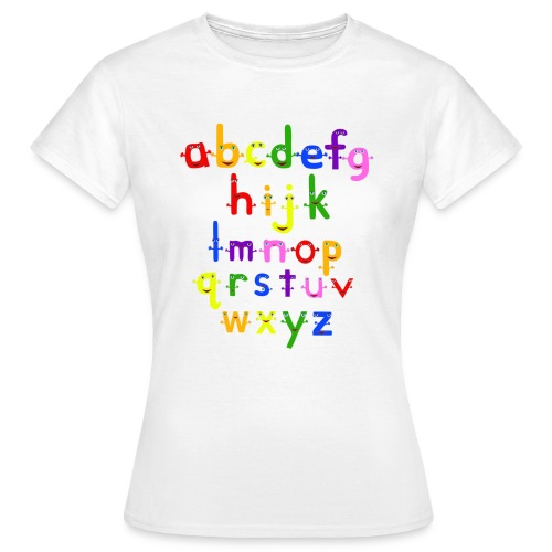 The Alphabet - Women's T-Shirt