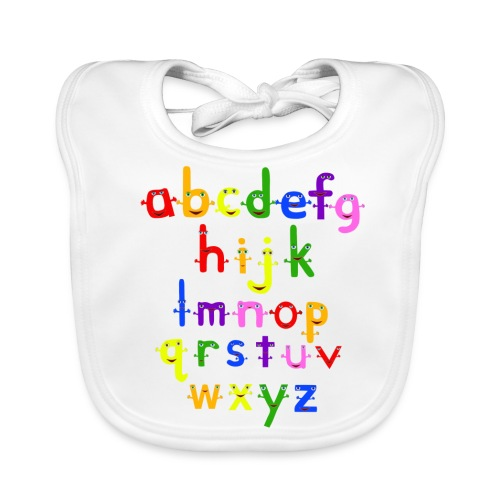 The Alphabet - Baby Organic Bib