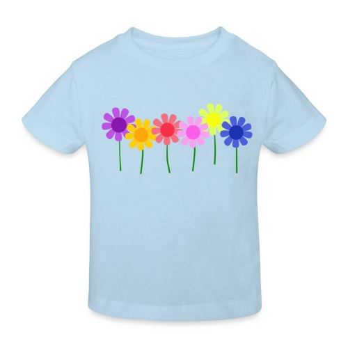 Flowers - Kids' Organic T-shirt