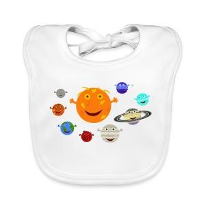 The Solar System - Baby Organic Bib