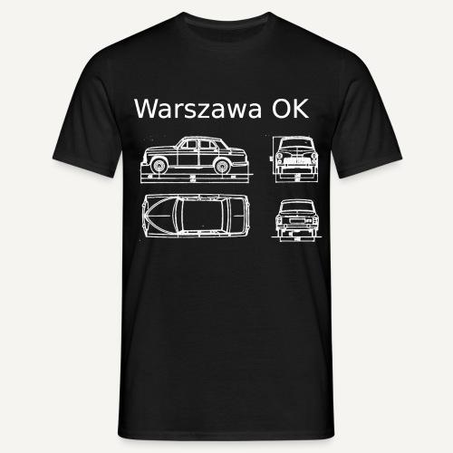 Warszawa OK - Koszulka męska
