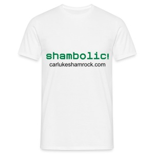 Shambolic! - tshirt white - Men's T-Shirt