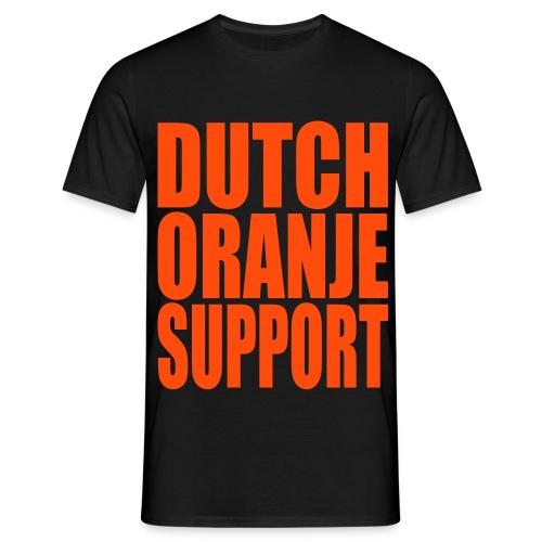 Dutch Oranje Support [Mannen] - Mannen T-shirt