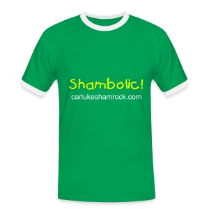 Shambolic! - tshirt green/white - Men's Ringer Shirt
