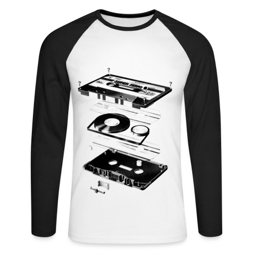 Music - Men's Long Sleeve Baseball T-Shirt