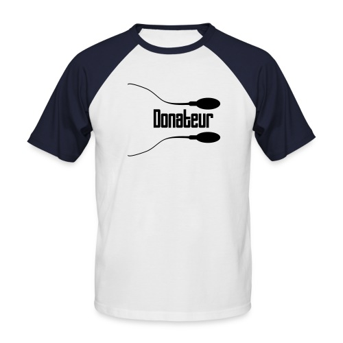 donatee - T-shirt baseball manches courtes Homme