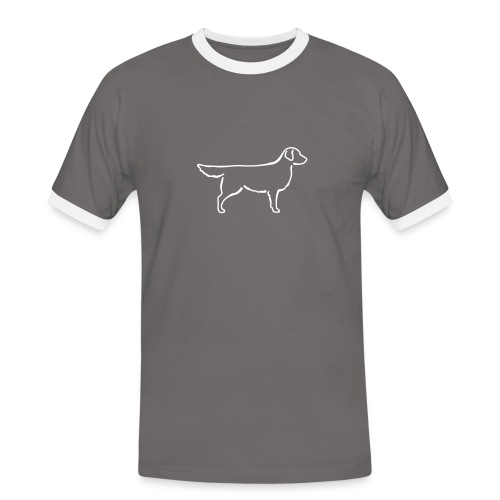 Golden Retriever - Männer Kontrast-T-Shirt