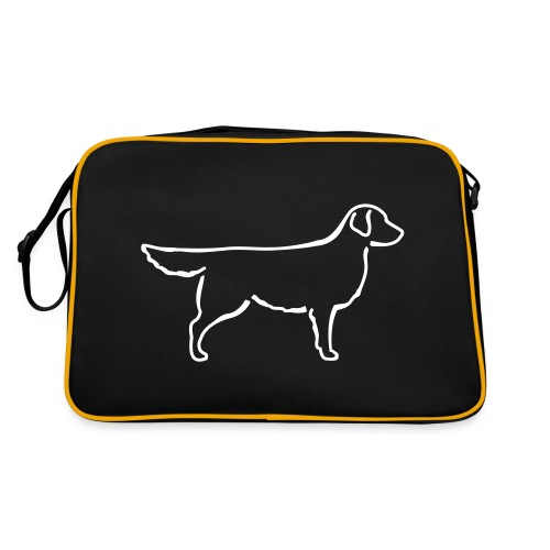 Golden Retriever - Retro Tasche